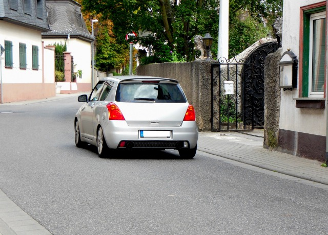 普通自動車と小型自動車